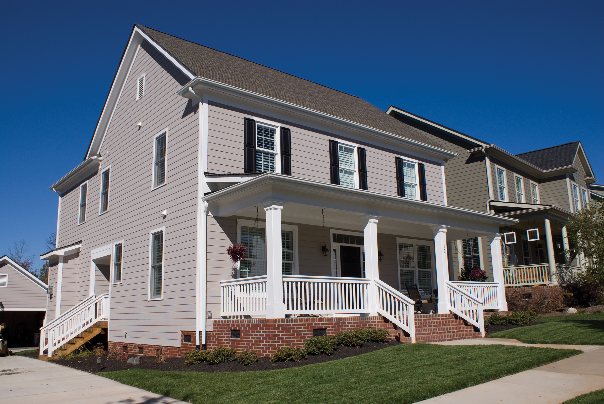 Cement fiber cement siding pros and cons modern for James hardie cost