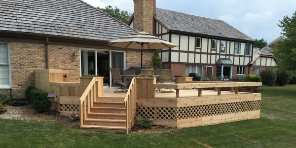 Custom decks, screened porches, sun rooms, and gazebos Chicago