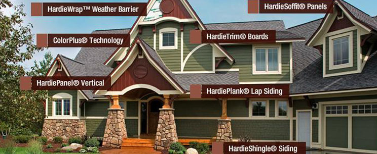 James Hardie Line of Products