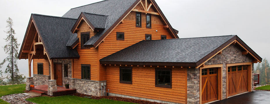 Wood siding siding replacement company for Casas pintadas modernas