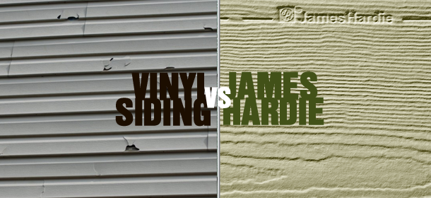Vinyl Siding vs. James Hardie Board